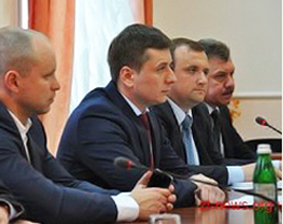 Deputy Mayor of Zhytomyr and Governor of Zhytomyr Region.