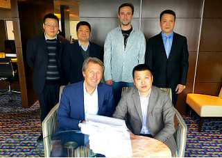Cindrigo and CWPC representatives after signed EPC Contract.